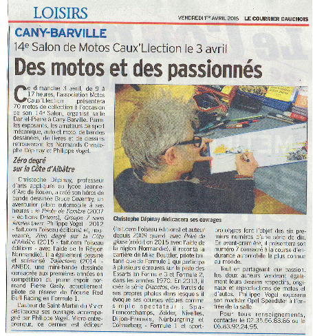 Cany-Barville, Philippe Vogel, Christophe Dépinay