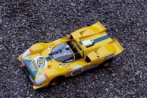 Ferrari 512S, Tergal, Montjuich