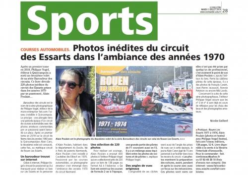 Philippe Vogel, Alain Poulain, Baroudeur des circuits, Rouen-Les Essarts