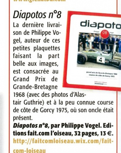 Diapotos, Philippe Vogel, Gorcy