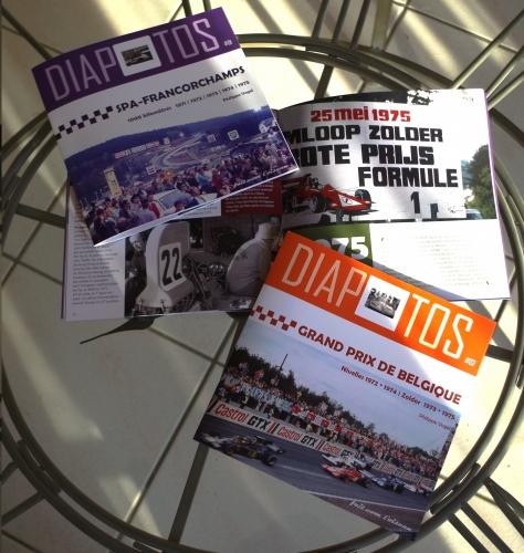 Diapotos, Philippe Vogel, Spa, Francorchamps, Zolder, Nivelles