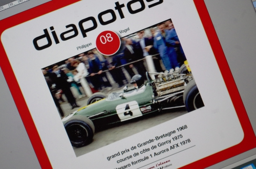 Diapotos, Philippe Vogel, Formule 1 1968