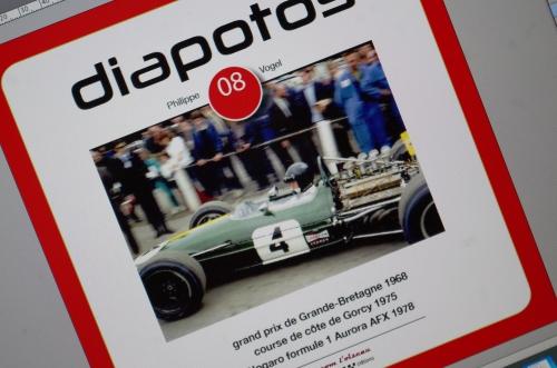 Diapotos, Philippe Vogel, Formule 1 1968