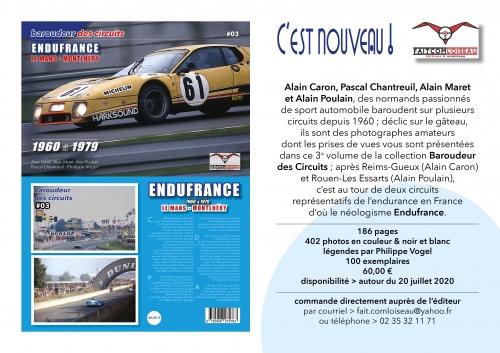 Baroudeur des circuits, Philippe Vogel, Le Mans, Montlhéry