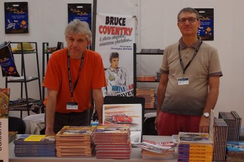 salon du livre en Bretagne 2015, Philippe Vogel