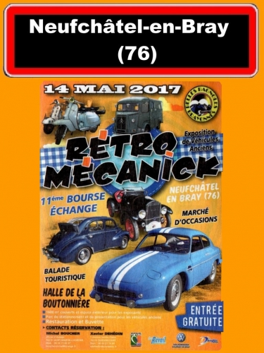 rétro mécanick 2017, Philippe Vogel