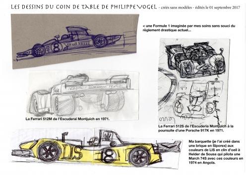 Philippe Vogel, Ferrari 512M