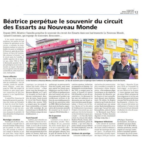 Philippe Vogel, Rouen-Les Essarts