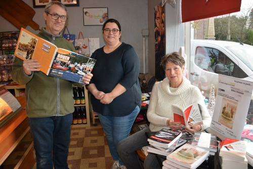 boulangerie Carriou, Philippe Vogel, Rouen-les Essarts, Régine Thieulent-Torréton