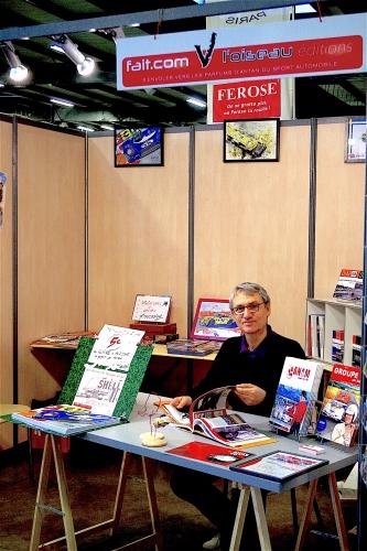 salon auto moto rétro Rouen, Philippe Vogel, Mike Beuttler