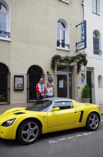 hôtel Céline Rouen, Philippe Vogel
