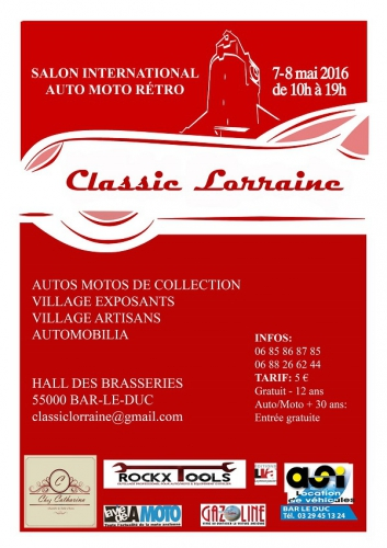 Classic Lorraine, Bar-le-Duc, Philippe Vogel