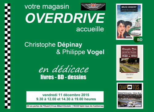 Overdrive, Saint-Jean du Cardonnay, Philippe Vogel