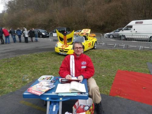 Philippe Vogel, Rouen les Essarts, Vannes, dédicace, diapotos