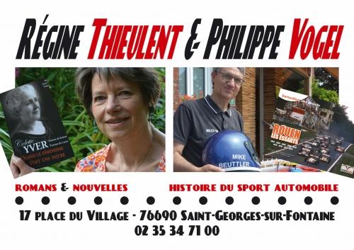 Philippe Vogel, boulangerie Carriou, dédicaces, Rouen-Les Essarts