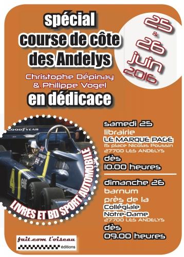 Les Andelys, course de côte, Philippe Vogel, Christophe Dépinay