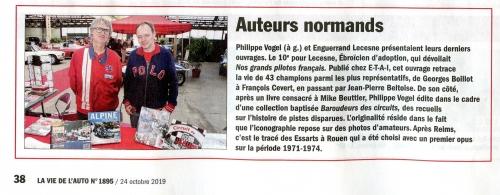 Enguerrand Lecesne, Philippe Vogel, LVA, Evreux