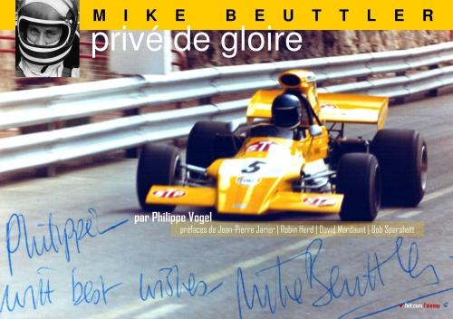 Mike Beuttler, Privé de gloire, Philippe Vogel, March 721G, March 731