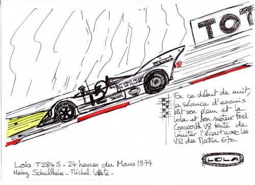 Philippe Vogel, Rétromobile 2016, Heinz Schulthess