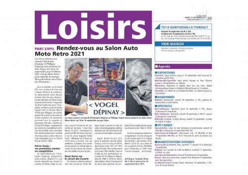 Salon auto moto rétro de Rouen 2021, Philippe Vogel, salon